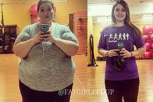 Cô gái 28 tuổi nỗ lực thần kỳ giảm tới... 141 kg