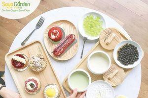 Thương hiệu đậu nành hữu cơ đầu tiên tại Việt Nam
