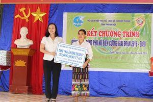 TAND tỉnh Thanh Hóa trao nhà tình nghĩa tại xã biên giới