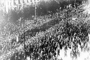 101 năm Cách mạng Tháng Mười vĩ đại: Tái hiện cuộc duyệt binh lịch sử năm 1941