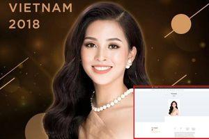 Miss World 2018 chính thức khởi động, hình ảnh Tiểu Vy rạng ngời xuất hiện trên trang chủ khiến fan 'dậy sóng'