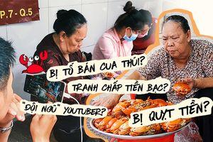 Những lùm xùm không đáng có quanh mâm cua bạc triệu của dì Ba Sài Gòn