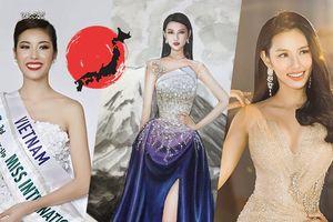 Học hỏi Thúy Vân, Thùy Tiên mang truyền thuyết 'công chúa ống tre Nhật Bản' lên váy dạ hội tại Miss International 2018