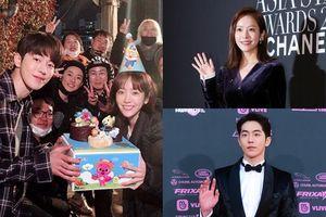 Vừa xác nhận 'hẹn hò', Han Ji Min đã đăng hình ăn sinh nhật cùng Nam Joo Hyuk lên mạng