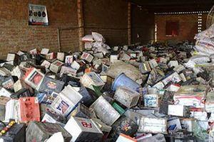 Kiểm soát chất thải rắn nguy hại tại tỉnh Đắk Nông