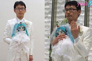 Đám cưới độc nhất vô nhị giữa một người đàn ông và một cô búp bê tại Nhật Bản