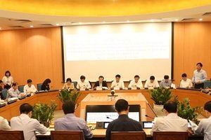 Bộ Xây dựng cam kết đồng hành cùng Hà Nội để xây dựng thành phố phát triển