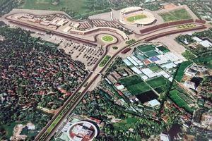 Đường đua F1 tại Việt Nam sẽ có độ dài khoảng 5,5 km
