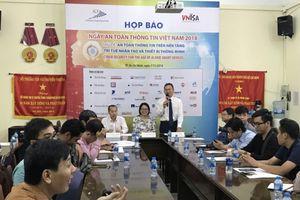 Họp báo công bố 'Ngày An toàn thông tin Việt Nam năm 2018'