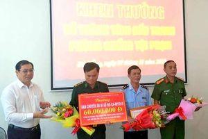 Đà Nẵng khen thưởng các đơn vị trong chuyên án bắt giữ hơn 10 tấn ngà voi