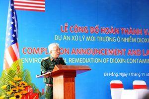 Việt Nam và Hoa Kỳ công bố hoàn thành Dự án xử lý ô nhiễm môi trường tại sân bay Đà Nẵng