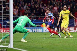 Atletico Madrid phục hận thành công trước Dortmund