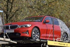BMW 3-Series Touring 2019 bỏ bớt ngụy trang, trông thể thao hơn hẳn