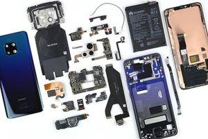 Mổ xẻ soi 'nội thất' máy khủng Mate 20 Pro của Huawei