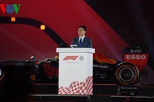 Phó Thủ tướng Vũ Đức Đam đánh giá cao giải đấu đua xe F1