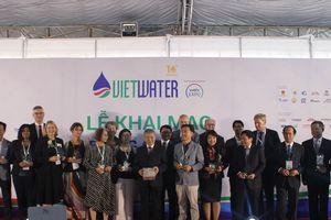 Hơn 500 doanh nghiệp trong nước và quốc tế dự VIETWATER