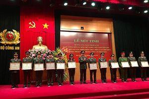 Bộ Công an mít tinh hưởng ứng Ngày Pháp luật Việt Nam 2018