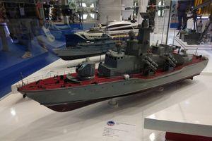 Việt Nam xúc tiến xuất khẩu tàu tên lửa Molniya 1241.8 tại Triển lãm Indo Defence 2018