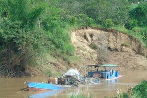 5 DN được cấp phép khai thác cát trên đoạn sông 19km