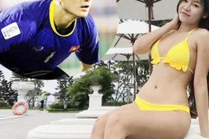 Bạn gái thủ môn Văn Lâm bày cách đốt mỡ bụng, làm đùi săn chắc