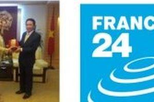 Kênh truyền hình France 24 phát sóng tại Việt Nam