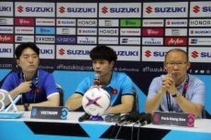 Họp báo sau chiến thắng đầu tiên của Việt Nam tại AFF Cup 2018