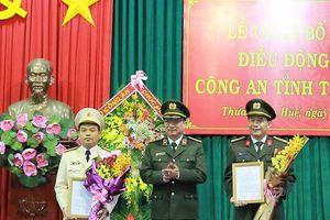 Giám đốc Công an Thừa Thiên - Huế được điều động nhận công tác tại UBKT Đảng ủy Công an Trung ương