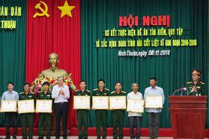 Ninh Thuận sơ kết thực hiện Đề án tìm kiếm, quy tập và xác định danh tính hài cốt liệt sĩ giai đoạn 2016-2018