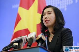 Việt Nam yêu cầu Trung Quốc không làm phức tạp tình hình Biển Đông