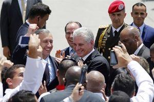 Bức phác họa đặc biệt về Chủ tịch Cuba Diaz-Canel