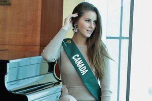 Người đẹp Canada bị quấy rối tình dục tại 'Miss Earth 2018'