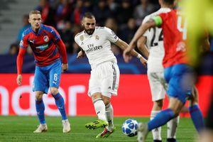 Benzema lập cú đúp, Real Madrid đại thắng ở Champions League