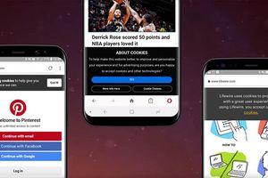 Opera 48 cho Android chặn hộp thoại cookie, thanh toán dễ dàng hơn