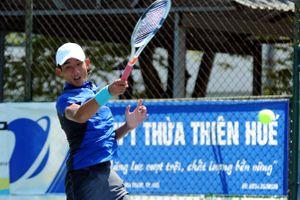 Nguyễn Văn Phương thẳng tiến ở giải quần vợt trẻ quốc tế tại Hàn Quốc