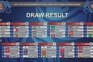 Việt Nam chạm trán Thái Lan tại vòng loại U23 châu Á