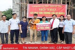 Ngân hàng Hà Tĩnh chi hơn 30 tỷ đồng đỡ đầu NTM, an sinh xã hội