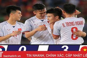 Việt Nam thắng áp đảo Lào ở trận mở màn AFF Cup 2018