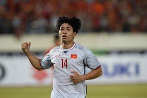 Công Phượng, Anh Đức, Quang Hải ghi bàn, tuyển Việt Nam có 3 điểm trận ra quân AFF Cup 2018