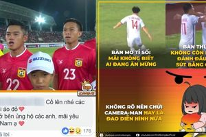 Hot girl Hà thành nhầm tuyển Lào là U23 Việt Nam, cameraman chơi xấu fan Việt