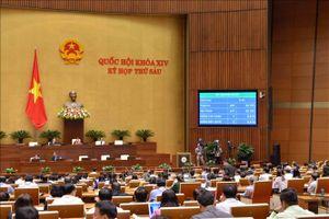 Quốc hội thông qua chỉ tiêu GDP 2019 tăng 6,6-6,8%