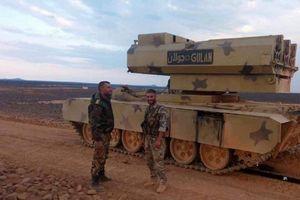 Quân đội Syria tung tên lửa mới ra chiến trường miền Nam