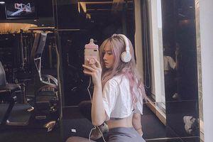 'Hot girl phòng gym' sở hữu thân hình đồng hồ cát và khuôn mặt 'thiên thần'