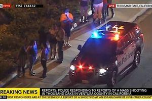 Xả súng tại quán bar California, nhiều người bị thương