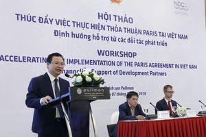 Đề xuất xây dựng diễn đàn đối thoại thực hiện Thỏa thuận Paris
