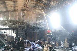 Lạng Sơn: Cháy lớn ở Nhà máy in bao bì Thiên Ngân