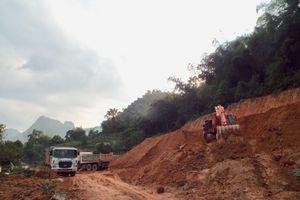 Hòa Bình: Quá tải các điểm đổ thải, dự án nâng cấp tuyến đường 433 chậm tiến độ
