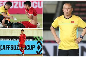 Trước 'giờ G' gặp tuyển Lào - 2 cầu thủ của Việt Nam bất ngờ vướng chấn thương, khó lòng ra sân