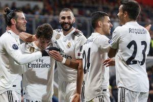 UEFA Champions League: Real Madrid hồi sinh mạnh mẽ