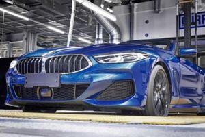 BMW 8 Series Convertible 2019 chính thức lên dây chuyền sản xuất hàng loạt