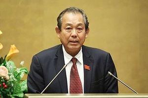 Phó Thủ tướng Thường trực Trương Hòa Bình chỉ đạo xử lý vi phạm đất đai ở Phú Quốc
